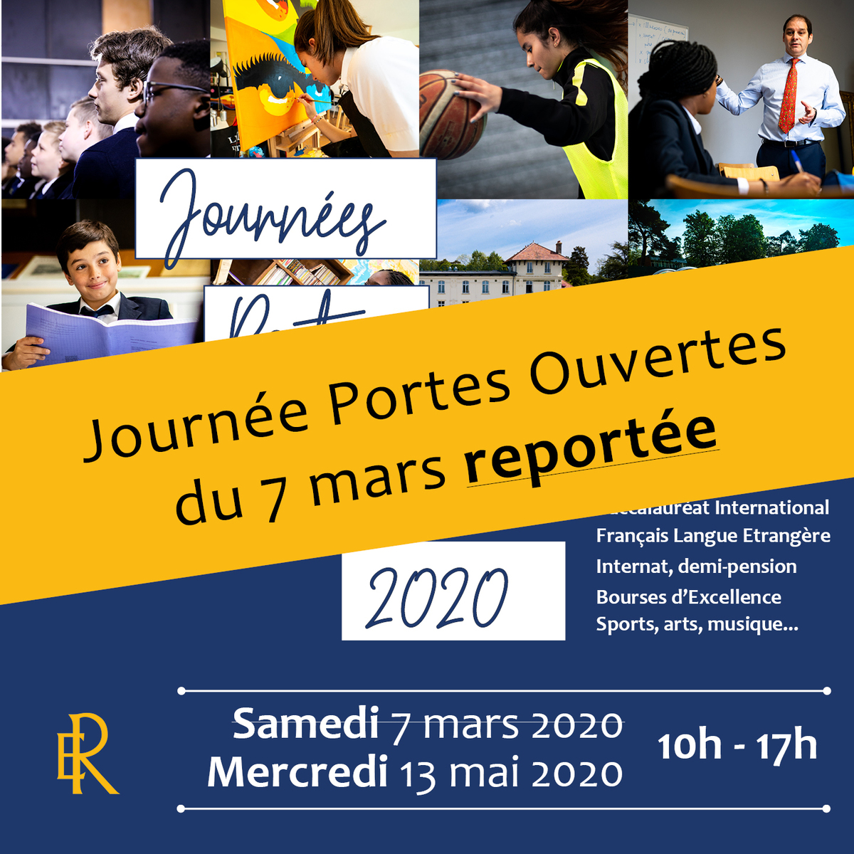 Report Journée Portes Ouvertes du 7 mars / Open Day adjournment March 7th